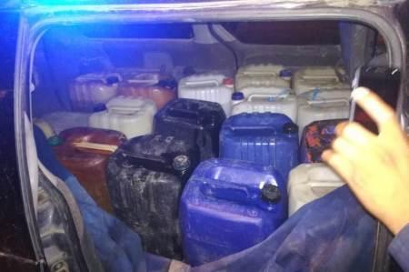 Policía de Tizayuca detiene a una persona y recupera 850 libros de huachicol