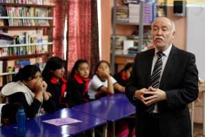 Promueve UAEH estilos de vida saludable en primaria de Pachuca