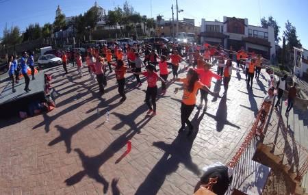 Promueven la activación física en colonias de Mineral de la Reforma a través del Instituto Municipal de la Cultura Física y Deporte1