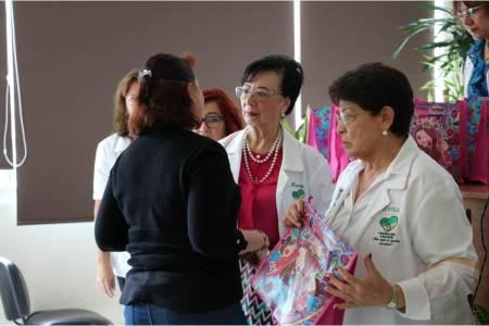 Quinta entrega de prótesis de mama del Voluntariado IMSS Hidalgo