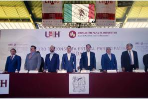 Realiza UAEH foro estatal educativo