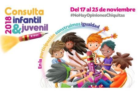 """Realizarán """"Consulta Infantil y Juvenil 2018"""", del 17 al 25 de noviembre"""