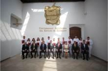 """Reciben alumnos de la UAEH beca """"Manuel Borbolla García""""5"""