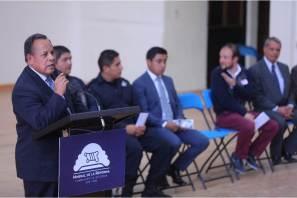 Refuerza Mineral de la Reforma Programa Escuela Segura con encuentro con directores y comités de padres de familia