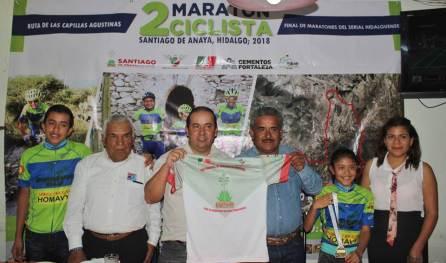 Santiago de Anaya recibirá la quinta fecha del Maratón Ciclista de MTB