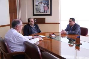Se reúne Raúl Camacho con ombudsman en atención a recomendaciones de la CDHEH