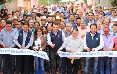 Secretarios de estado llevaron a cabo gira de trabajo por la Sierra Gorda4