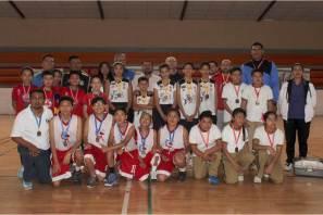 Surgen campeones estatales de tochito bandera y baloncesto 3x3