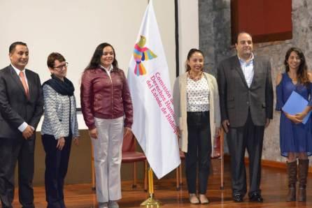 Unen esfuerzos CDHEH y Congreso del Estado para difundir derechos humanos en la función legislativa