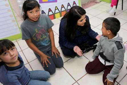 """Victoria Ruffo visita instalaciones de """"La fuente del Renacer""""4"""