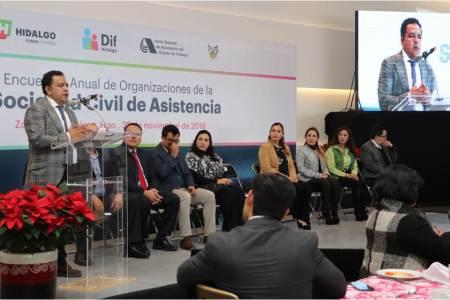 Anuncian incremento de apoyo a organizaciones de la sociedad civil de asistencia social2
