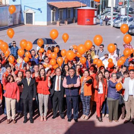 Arrancan actividades del mes naranja en Mineral de la Reforma3