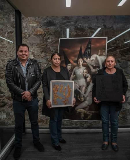 Artistas de la UTEC exponen sus trabajos en el Museo de Louvre, en Paris