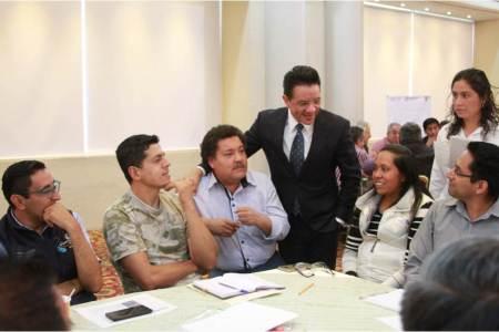 Benjamín Rico convoca a trabajar conjuntamente en la actualización del Programa de Ordenamiento Ecológico Territorial