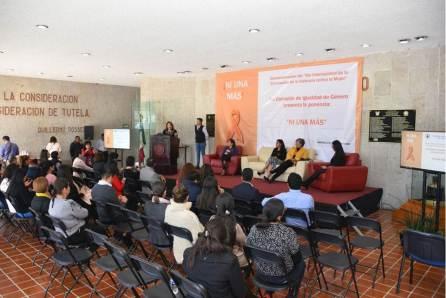 Comisión de Igualdad de Género pide en celebración del día contra la violencia a mujeres modificar patrones de usos y costumbres