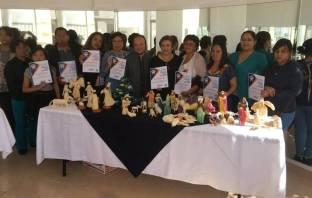 """Concluye Dirección de Turismo de Mineral de la Reforma Curso de """"Elaboración de figuras de hoja de maíz""""5"""