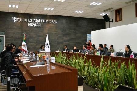 Consejo General del IEEH realiza primera sesión ordinaria de noviembre