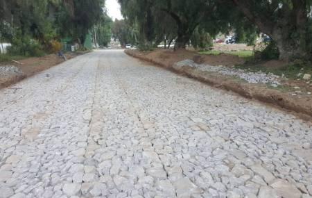Construye SOPOT ciclovía y empedrado en San Agustín Tlaxiaca2
