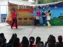 Coordinación de Bibliotecas lleva pastorela a escuelas de Mineral de la Reforma3