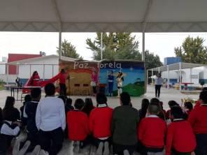 Coordinación de Bibliotecas lleva pastorela a escuelas de Mineral de la Reforma4