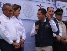 Dan banderazo al programa Bienvenido a Casa Paisano en Mineral de la Reforma 1