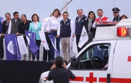 Dan banderazo al programa Bienvenido a Casa Paisano en Mineral de la Reforma 4