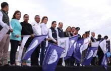 Dan banderazo al programa Bienvenido a Casa Paisano en Mineral de la Reforma 5