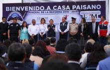 Dan banderazo al programa Bienvenido a Casa Paisano en Mineral de la Reforma 6