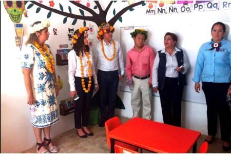 DIF Hidalgo inaugura en San Felipe Orizatlán de un CAIC