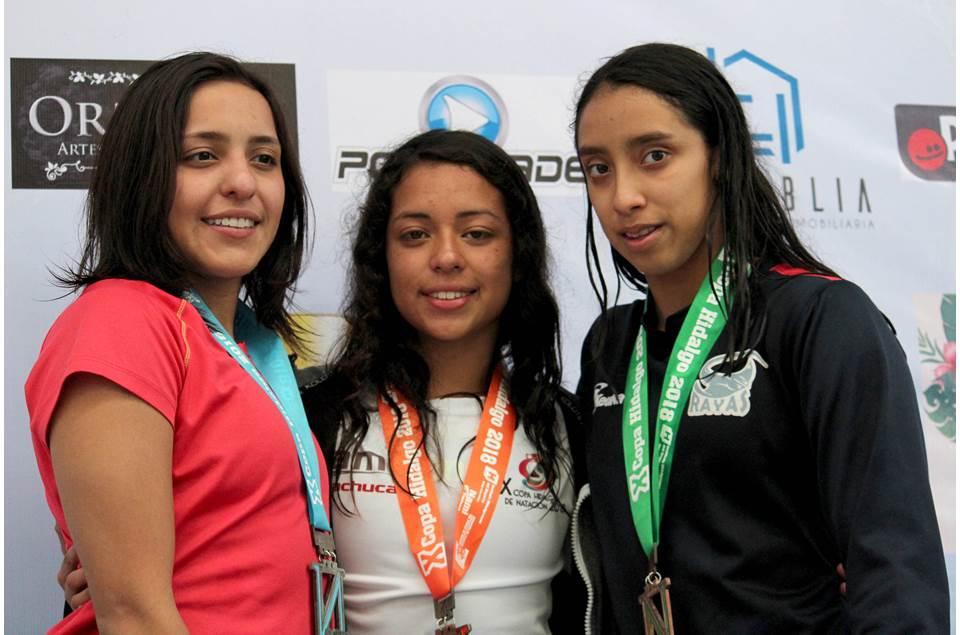 El CEAR se proclamó campeón de la décima Copa Hidalguense de Natación2