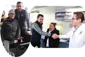 El trabajo mancomunado permite resultados para las familias de Hidalgo, Israel Félix Soto
