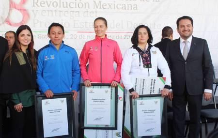 Entregan Premio Estatal del Deporte a galardonados