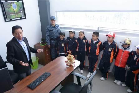 Estudiantes visitan Secretaría de Seguridad Pública de Hidalgo4
