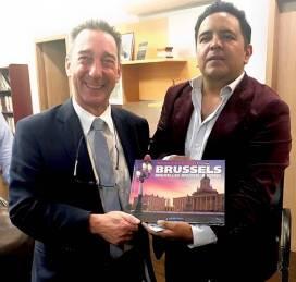 Genera Hidalgo vínculos institucionales con la Universidad Libre de Bélgica4