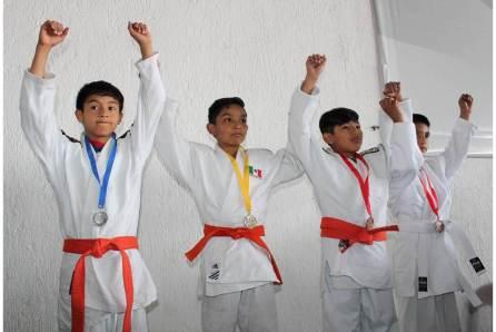 """Hidalgo cosecha 48 medallas en el Nacional de Judo""""Adolfo Sosa""""3"""