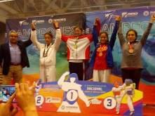 Hidalgo logra cuatro medallas en nacional de TKD4