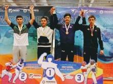 Hidalgo logra cuatro medallas en nacional de TKD5