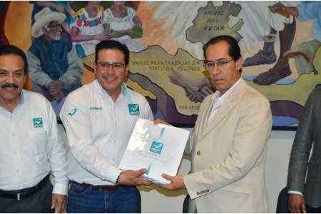 IEEH recibe solicitud de registro de Nueva Alianza Hidalgo
