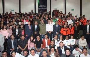 Imjuve y Sedeso entregaron más de medio millón de pesos en favor de la juventud hidalguense5