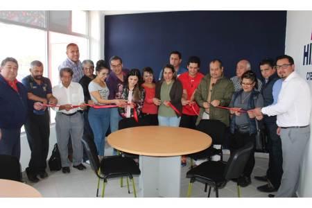 Inauguran la Sala de Presidentes de Asociaciones en el Polideportivo del CEAR