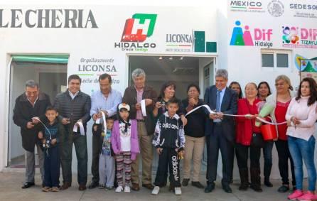 Inauguran nueva lechería en Rancho Don Antonio Quinta Sección1