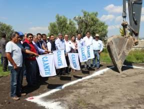 Inicia construcción de sistema de riego para la Unidad Deportiva 1