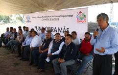 Inicia construcción de sistema de riego para la Unidad Deportiva 4