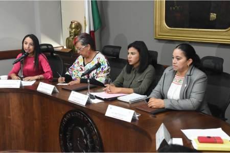 Instalan el Congreso del Estado la Comisión de Igualdad de Género
