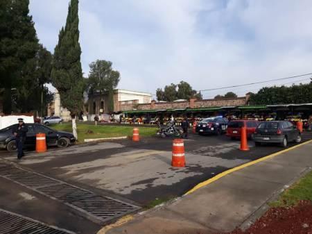 Instalan por Día de Muertos operativo en el Panteón Municipal de Pachuca