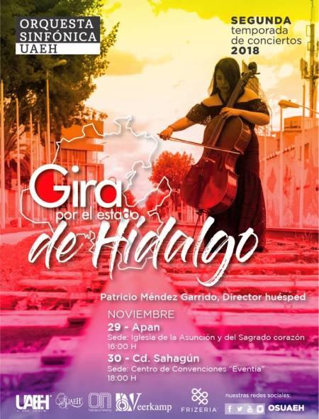 La Orquesta Sinfónica UAEH se va de gira por Hidalgo2