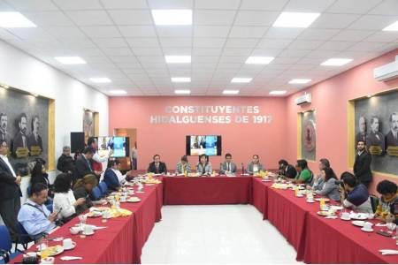 Legisladores del PRI presentan su agenda legislativa para ejecutar durante la LXIV Legislatura de Hidalgo