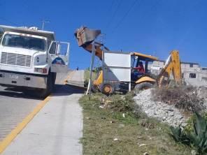 Mineral de la Reforma refuerza trabajos de limpieza en colonias 4