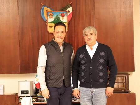 Omar Fayad se reune con Abraham Mendoza