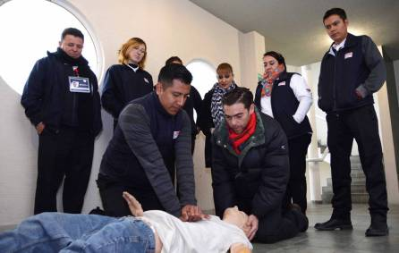 Operadores del 911 de Emergencias en Hidalgo reciben capacitación en primeros auxilios3